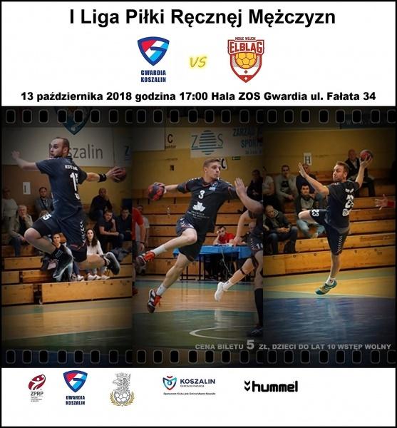 I liga: KSPR Gwardia Koszalin - KS Meble Wójcik Elbląg